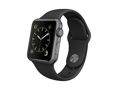 Apple Watch Sport Schwarz