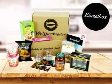 Muttertagsspecial Weltprobierer Food-Box