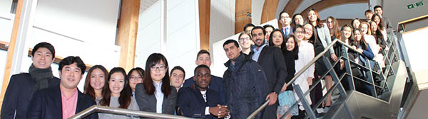 Master in Entrepreneurship students