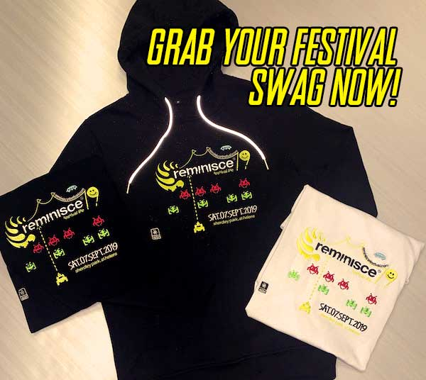 grab your festival swag now!
