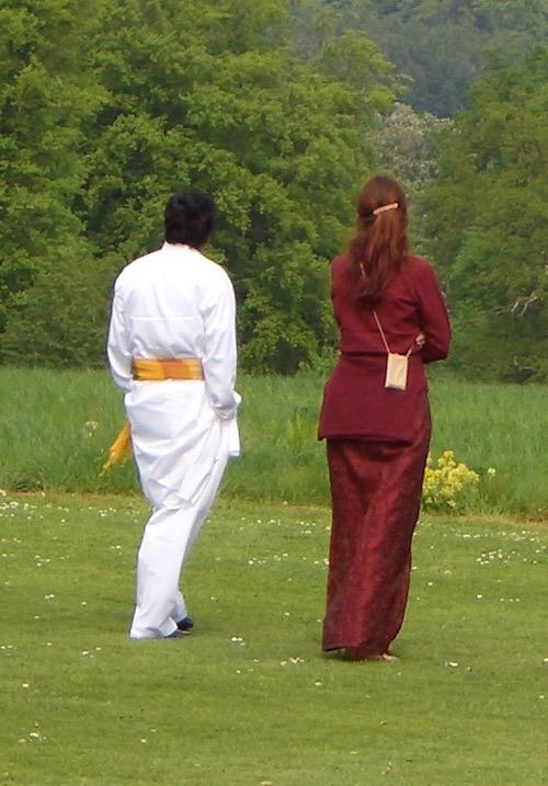 Šrí Káléšvara a Tatyanna v Londýně, 2008