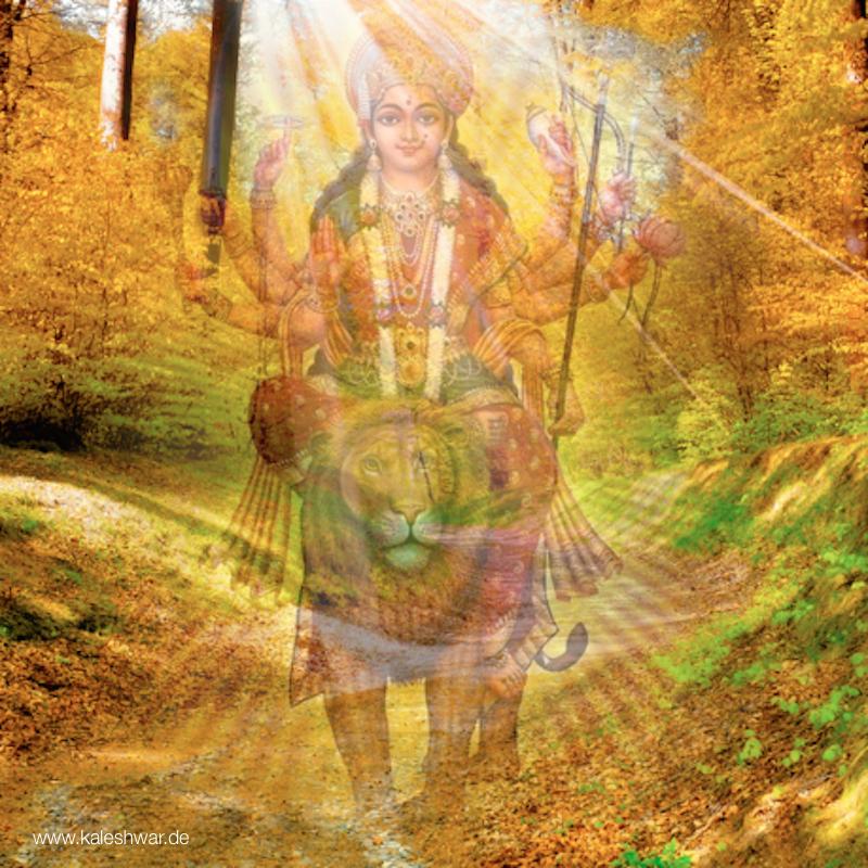 Božská Matka je příroda.