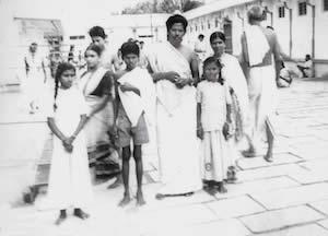 Familienfoto aus Sri Kaleshwars Kindheitstagen