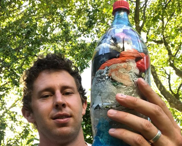 Ian Dommisse just packed 440g of plastic out of the  Port Elizabeth, South Africa  biosphere!