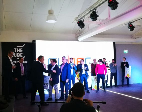 Kymatio Winner Cybersecurity Ventures INCIBE