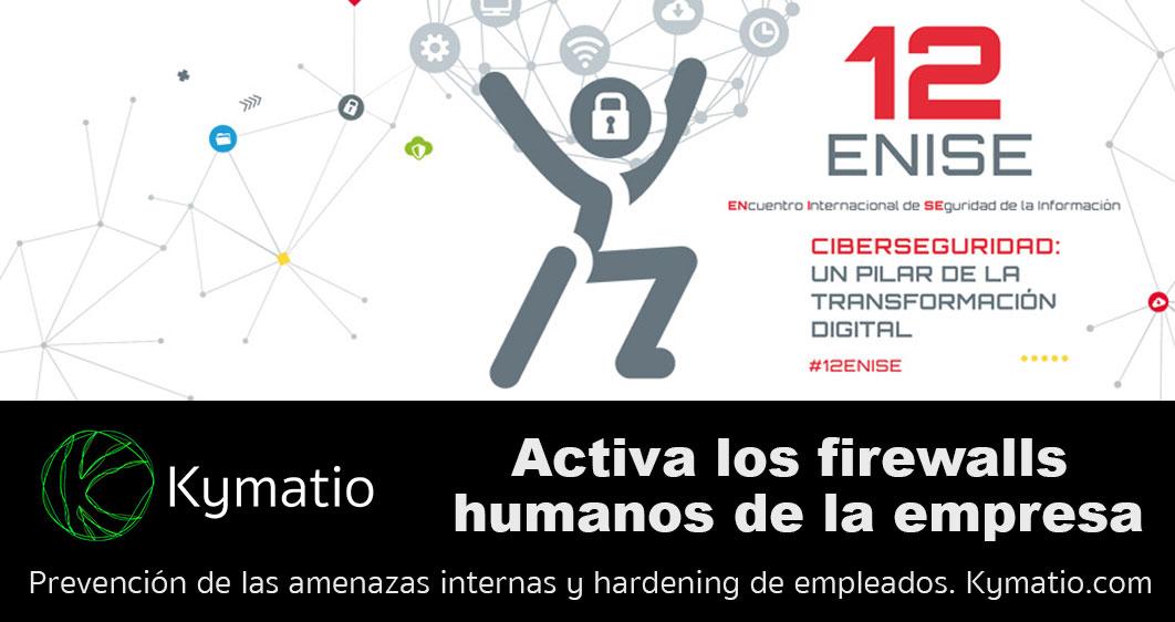 Participación de Kymatio en el 12 ENISE del Instituto Nacional de Ciberseguridad. 1
