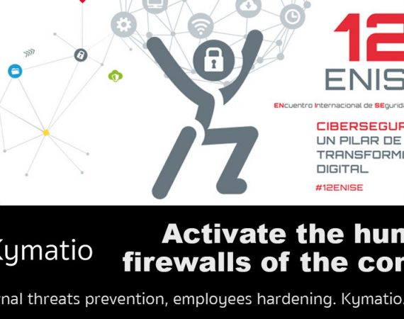 Kymatio at the 12ENISE of the National Cybersecurity Institute. 2