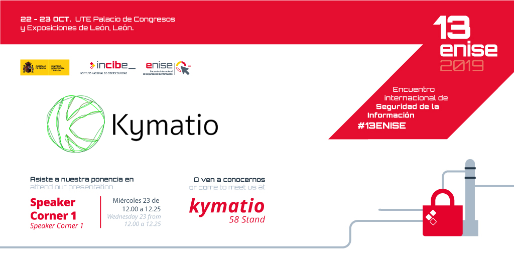 Kymatio estará presente en  13ENISE con stand propio y charlas de expertos 2