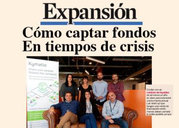 Kymatio, la ciberseguridad cotiza al alza. Entrevista a Fernando Mateus, CEO de Kymatio para el diario Expansión