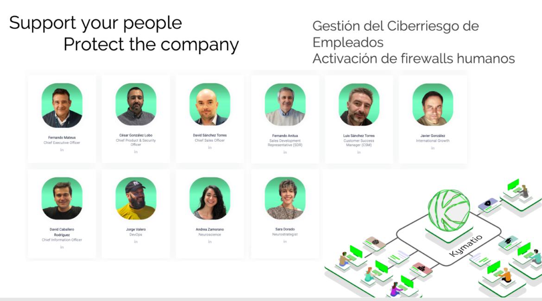 La startup de ciberseguridad Kymatio cierra una ronda de financiación 725.000 euros con la entrada de Sabadell y JME Ventures 1