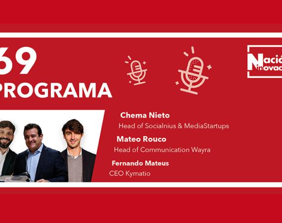 Nacion Innovacion TV - 69 - Entrevista CEO Kymatio Fernando Mateus