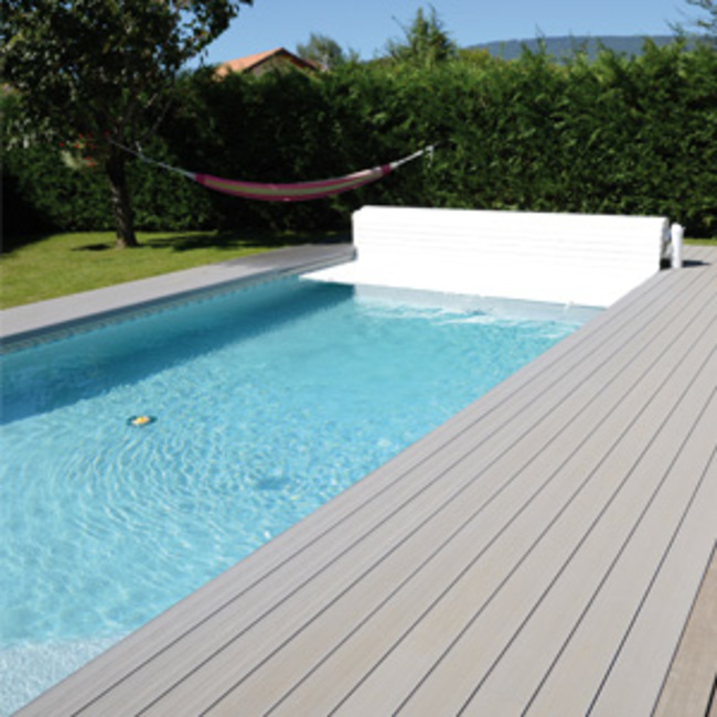 Abriblue volet piscine hors sol open classic