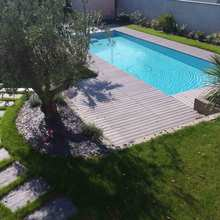 Jardin olivier bvs piscines rectangle