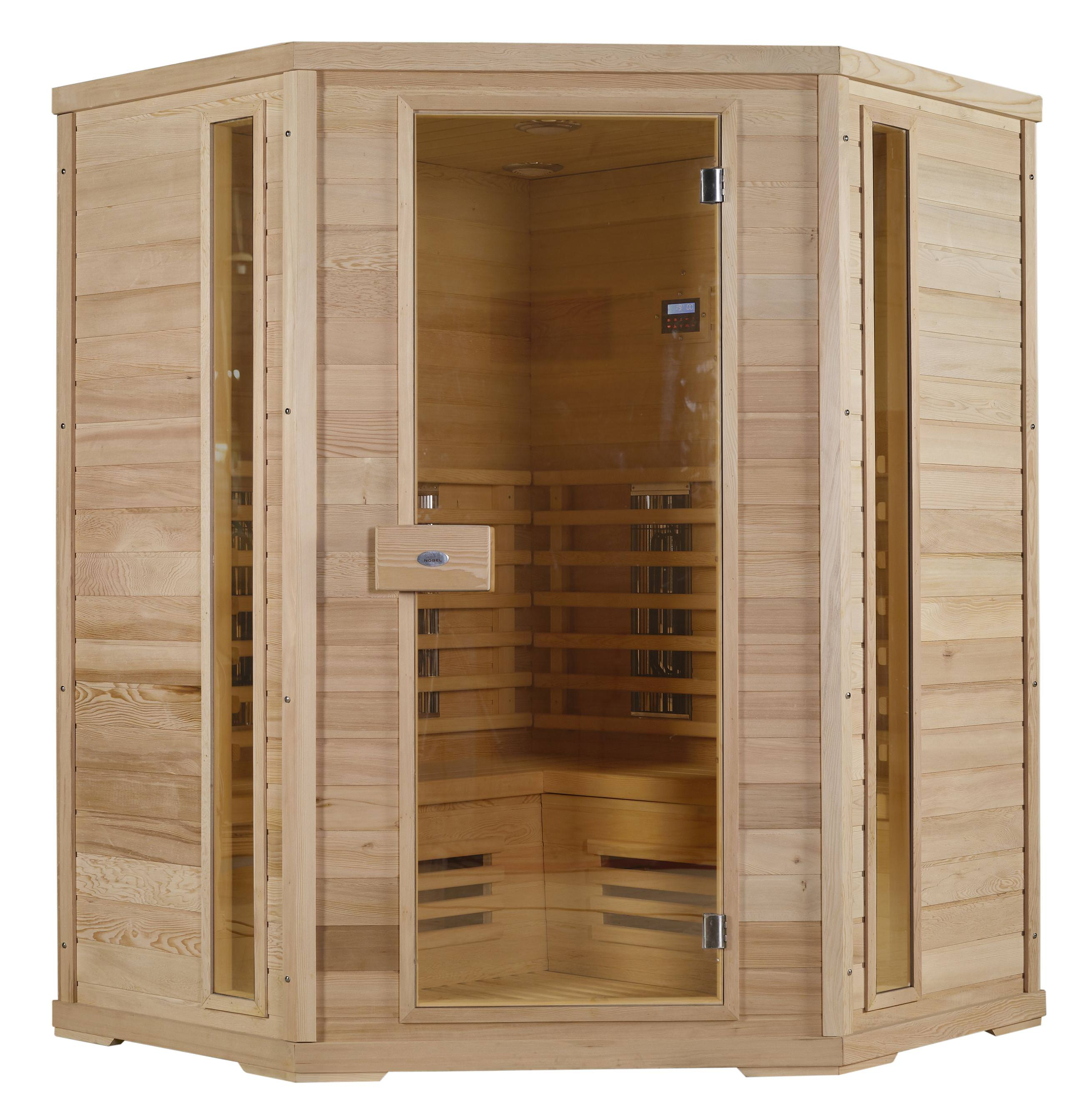 le sauna infrarouge la chaleur s che incontournable. Black Bedroom Furniture Sets. Home Design Ideas