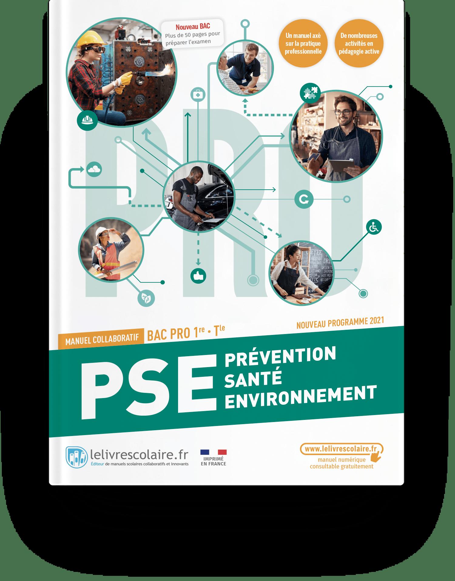 Image produit Prévention Santé Environnement 1re Tle bac pro