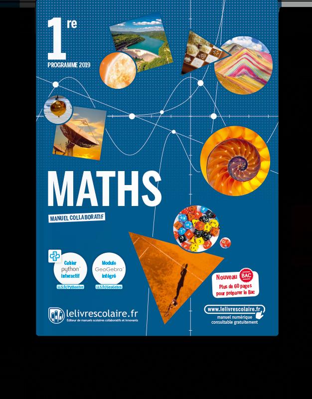 Image produit Mathématiques 1re - Ens. Spécialité