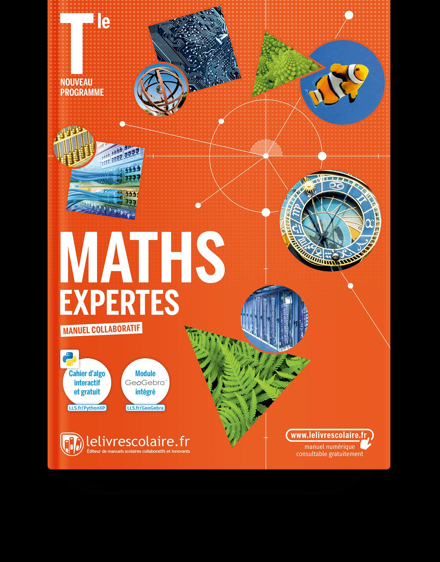 Image produit Mathématiques Expertes Tle