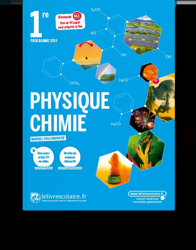 Image produit Physique-Chimie 1re - Ens. spécialité