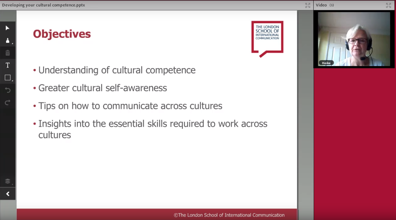 Developing your intercultural competence webinar
