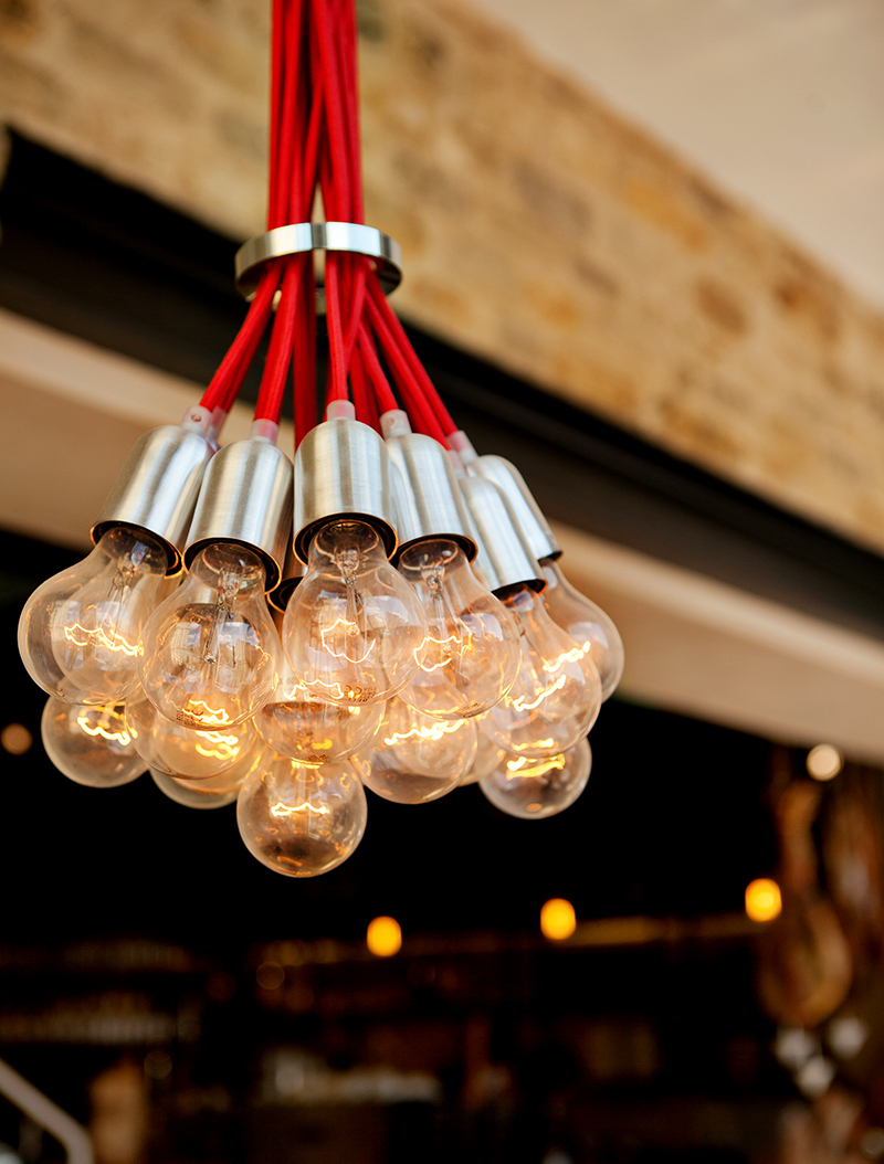 Wine Bar fixtures and fittings designed by Prosper