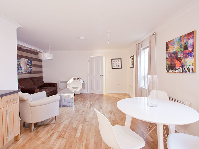 Interior shot of Prosper's award winning residential development in Norwich