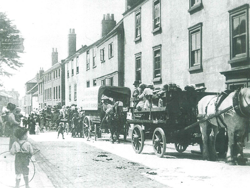 Historic photo of Pottergate