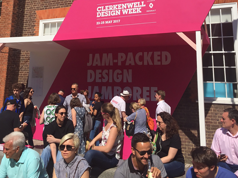 Review of Clerkenwell Design Week by Colin Walsh