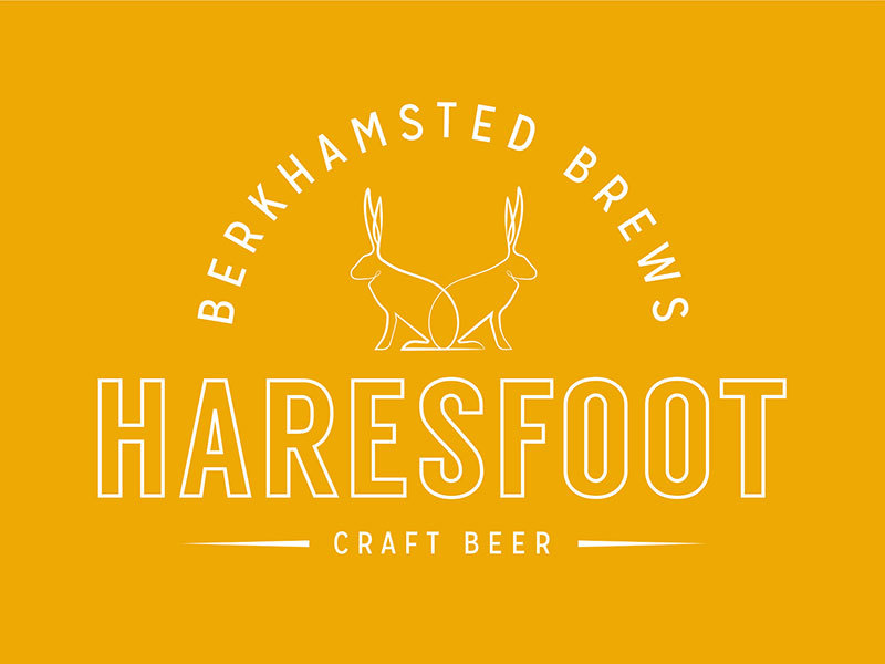 Haresfoot Brewery's new brand identity created by Prosper
