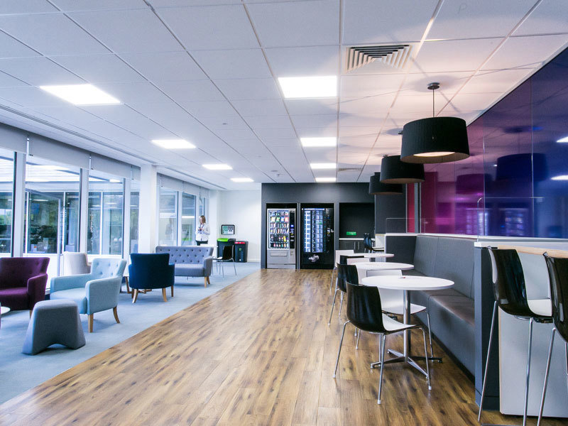 Space planning for Nationwide's offices provided by Prosper