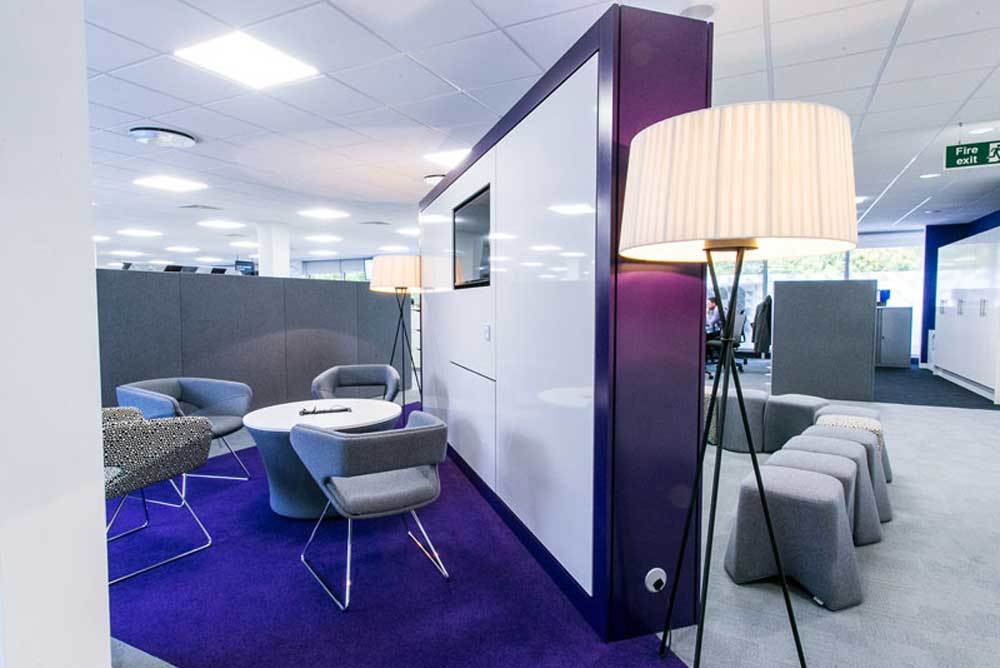 Head office space planning for Nationwide