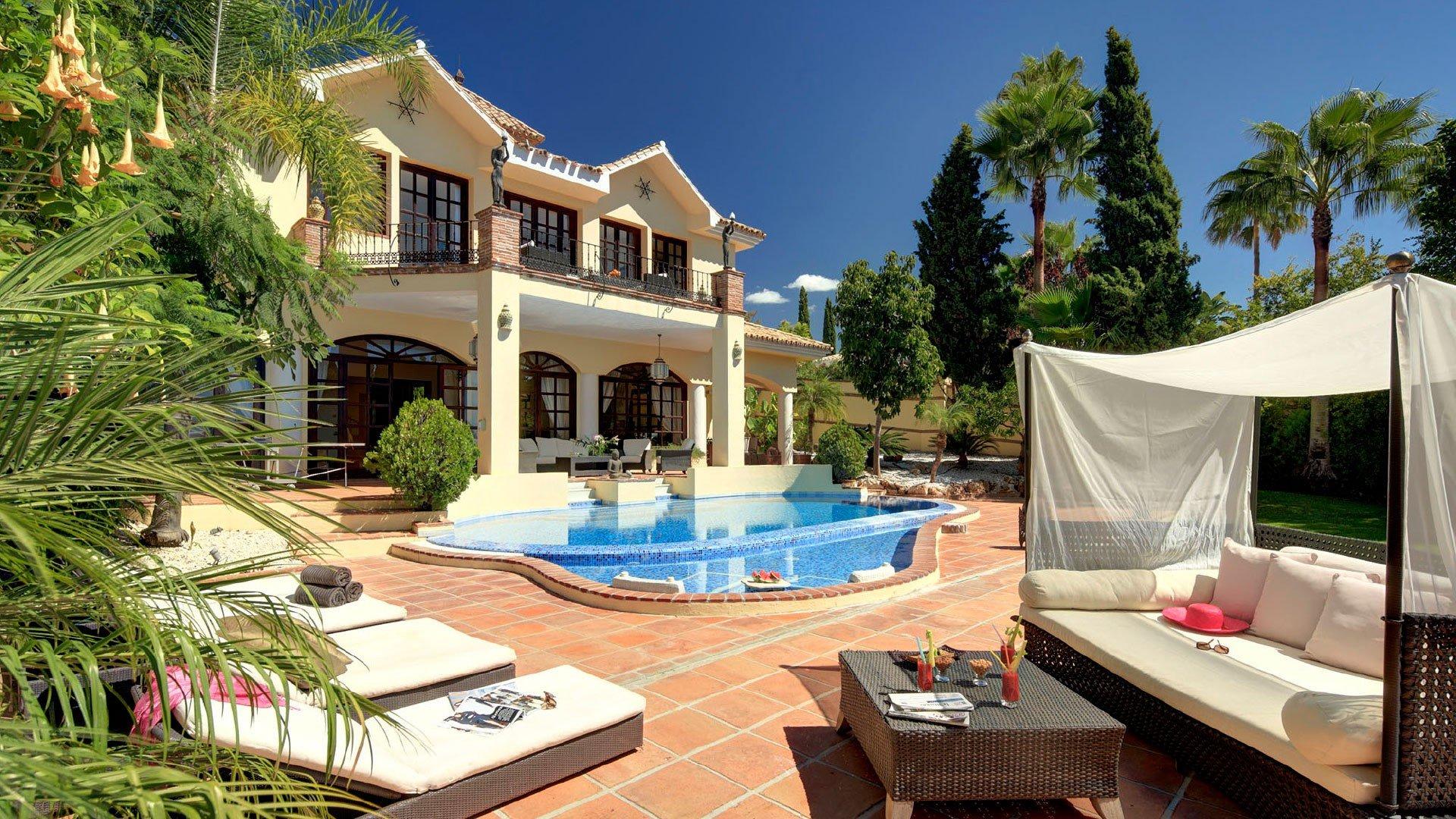 Villa att hyra i Benahavis, La Quinta