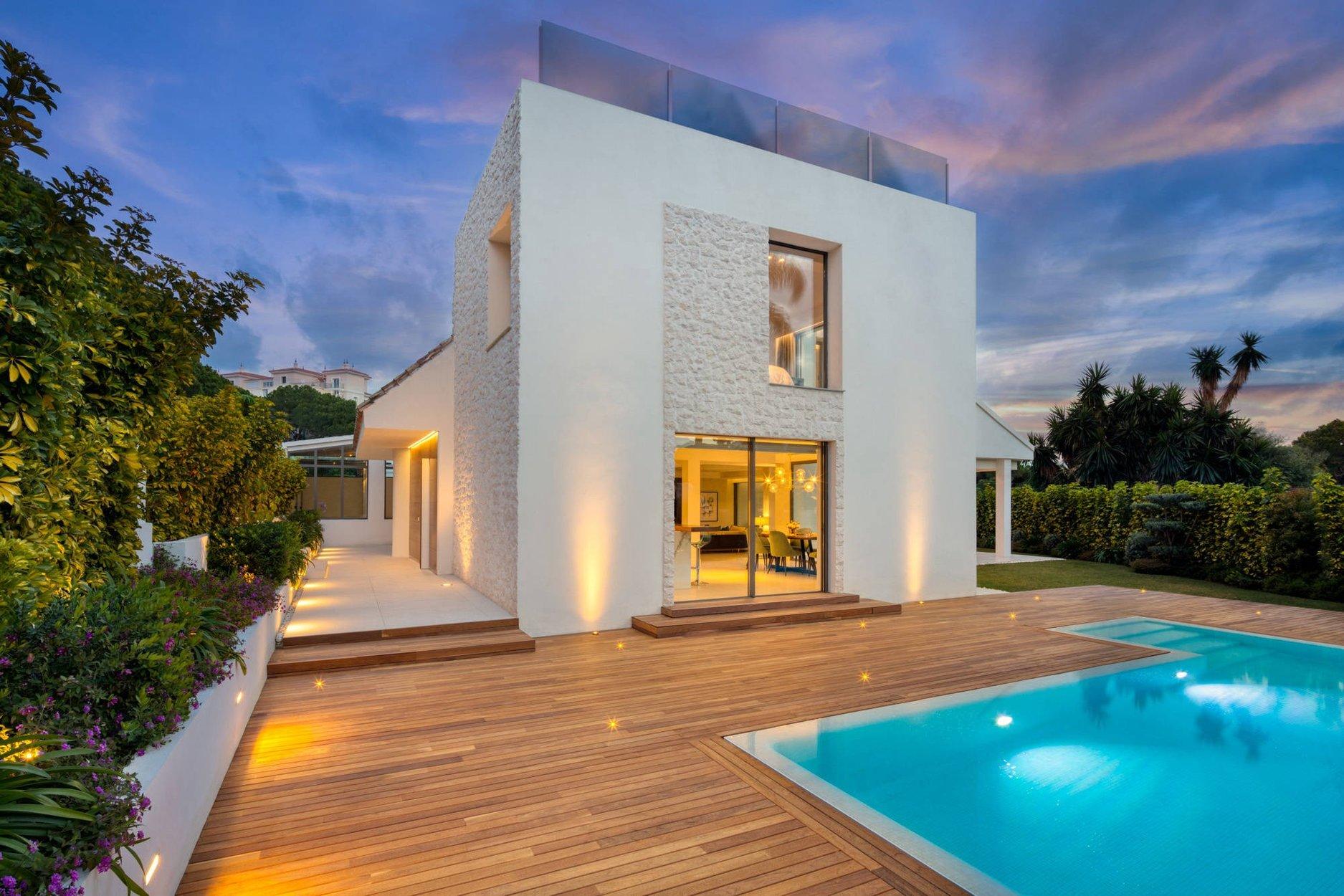 Villa att hyra i Marbella, Puerto Banus