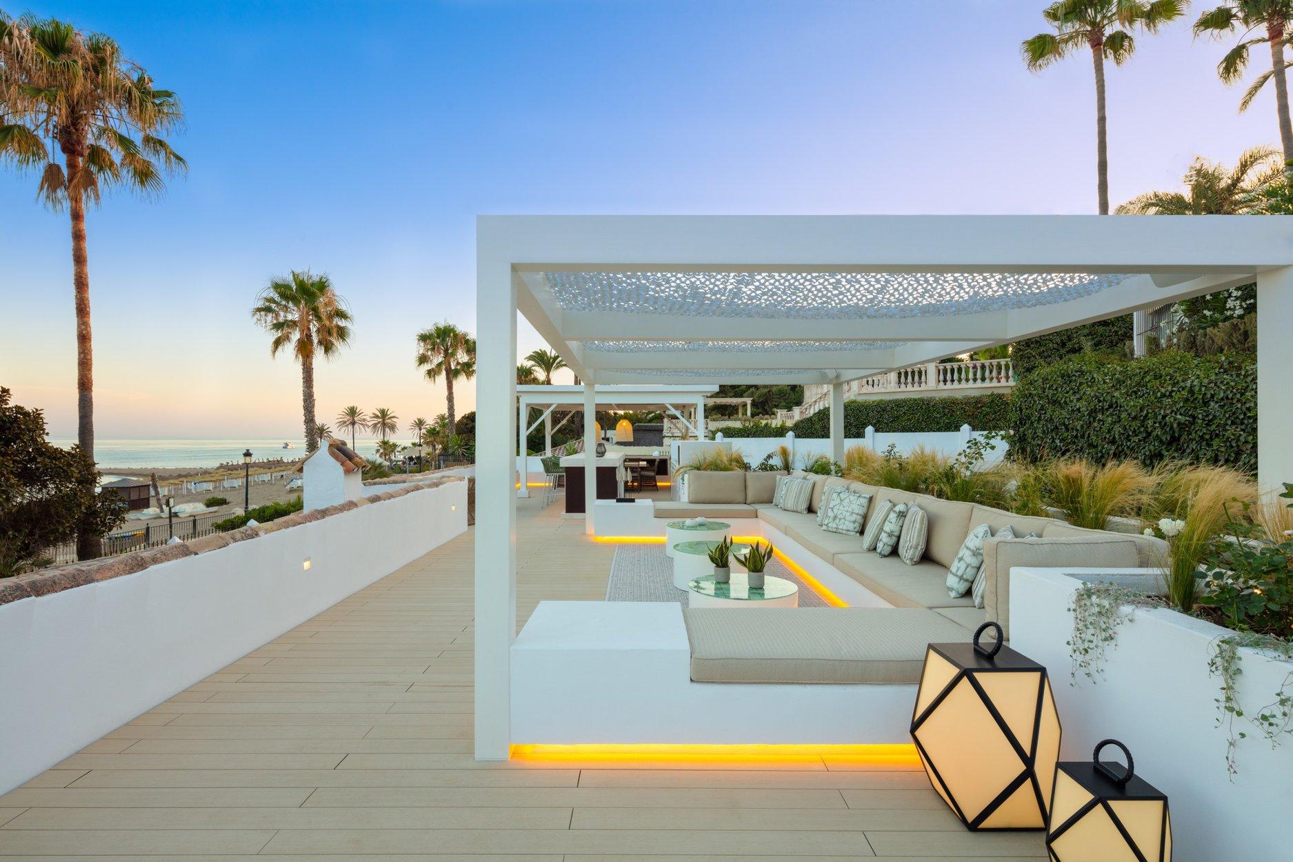 Villa à louer à Marbella, Puente Romano
