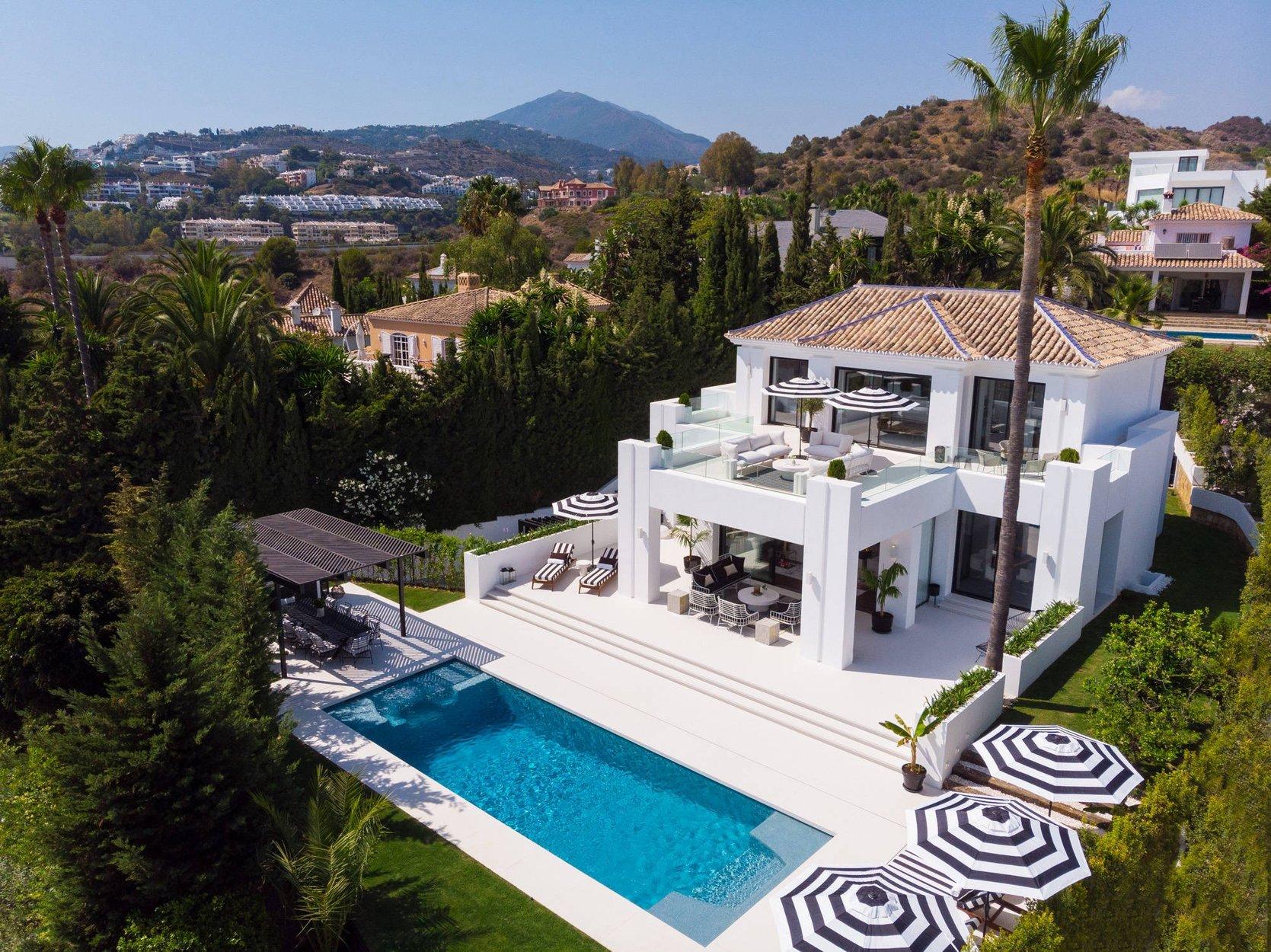 Villa à louer à Marbella, Nueva Andalucia