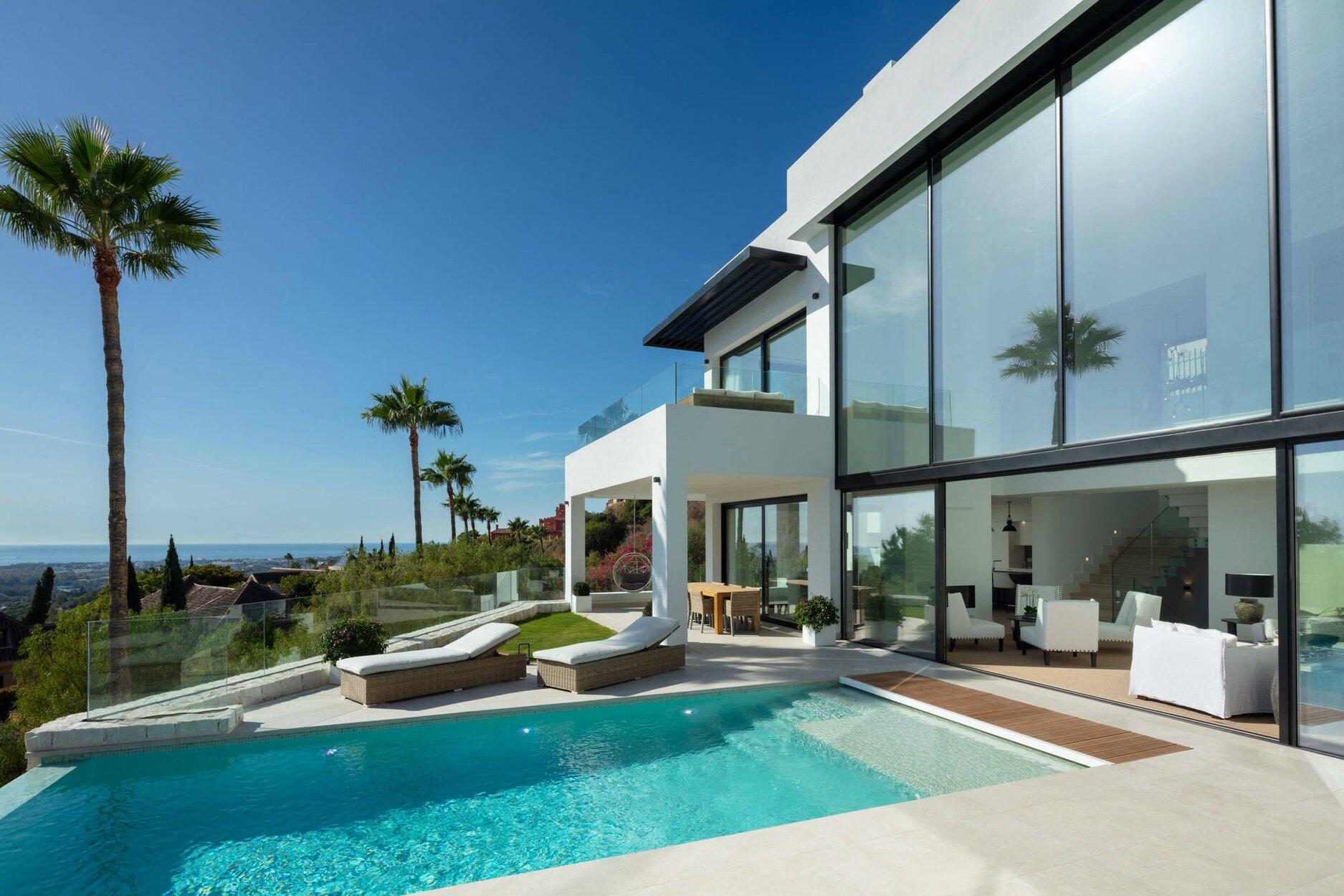 Villa for rent in Benahavis, Monte Halcones