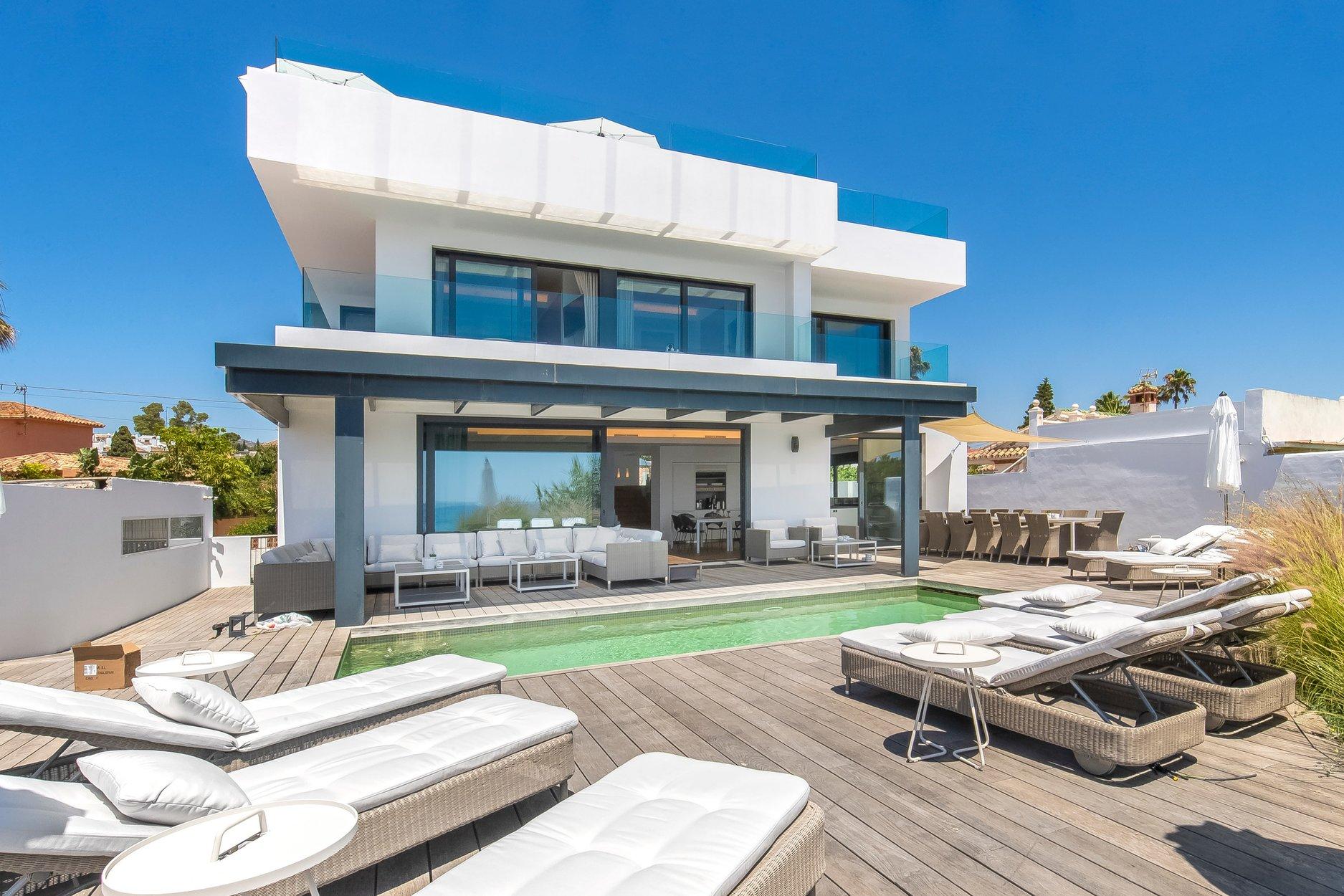 Villa à louer à Marbella, El Rosario