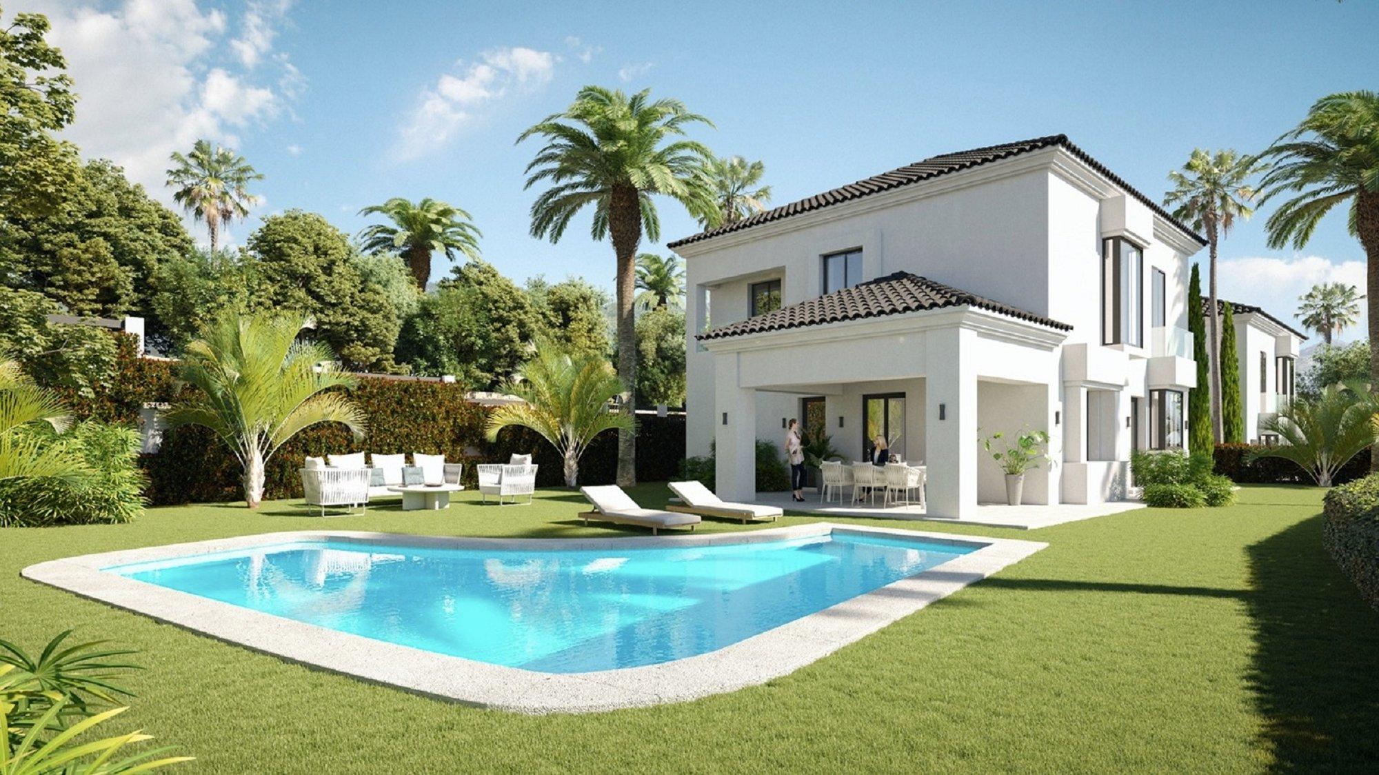 Villa for sale in Marbella, Santa Maria Golf