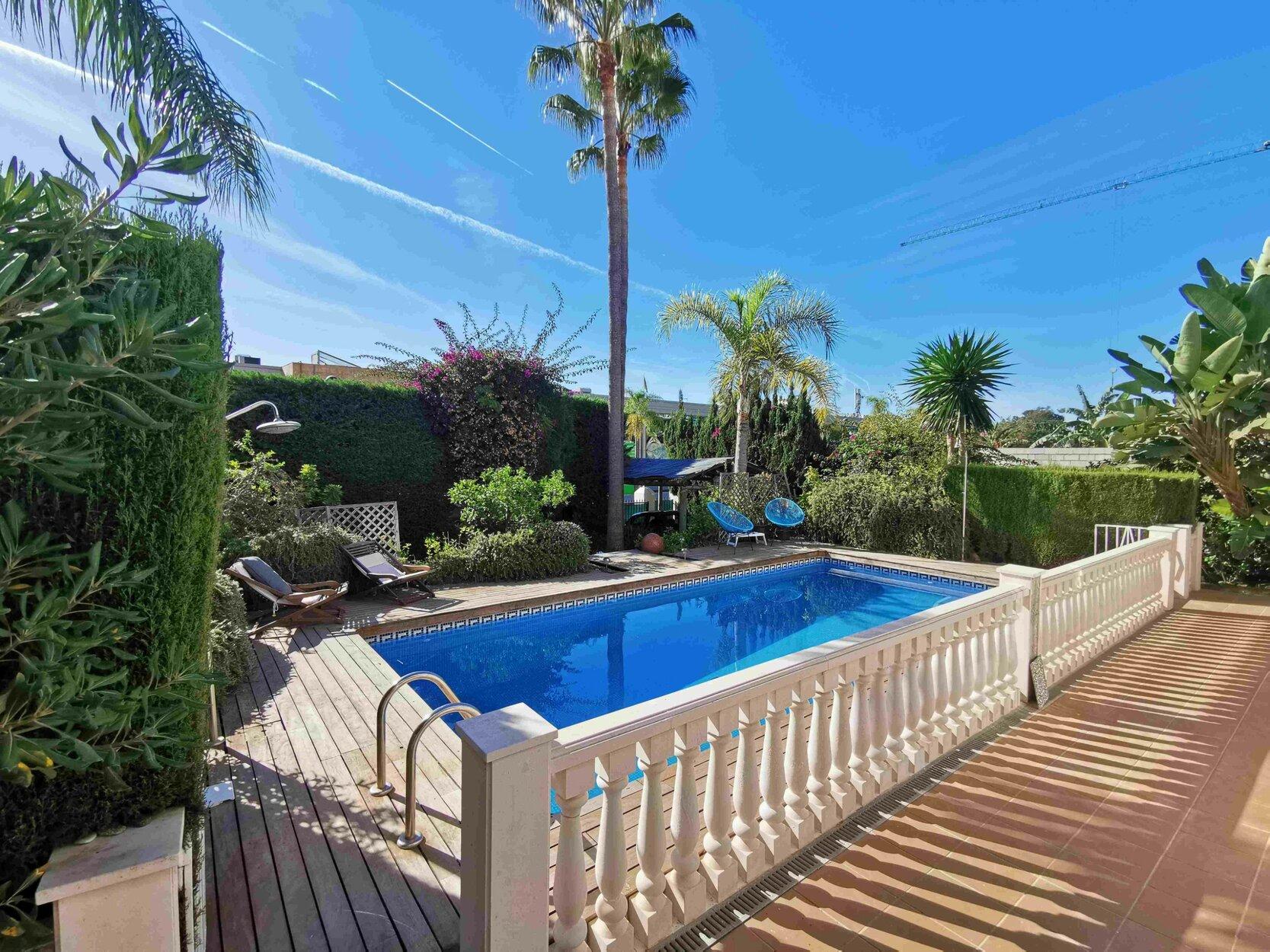 Townhouse for rent in Marbella, Villa Parra Palomera