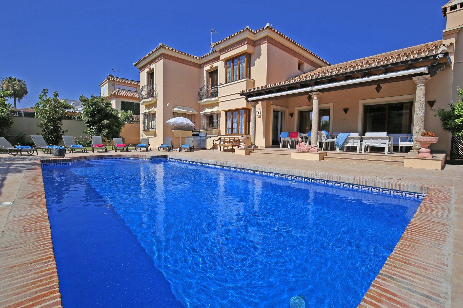 Villa for rent in San Pedro Alcantara