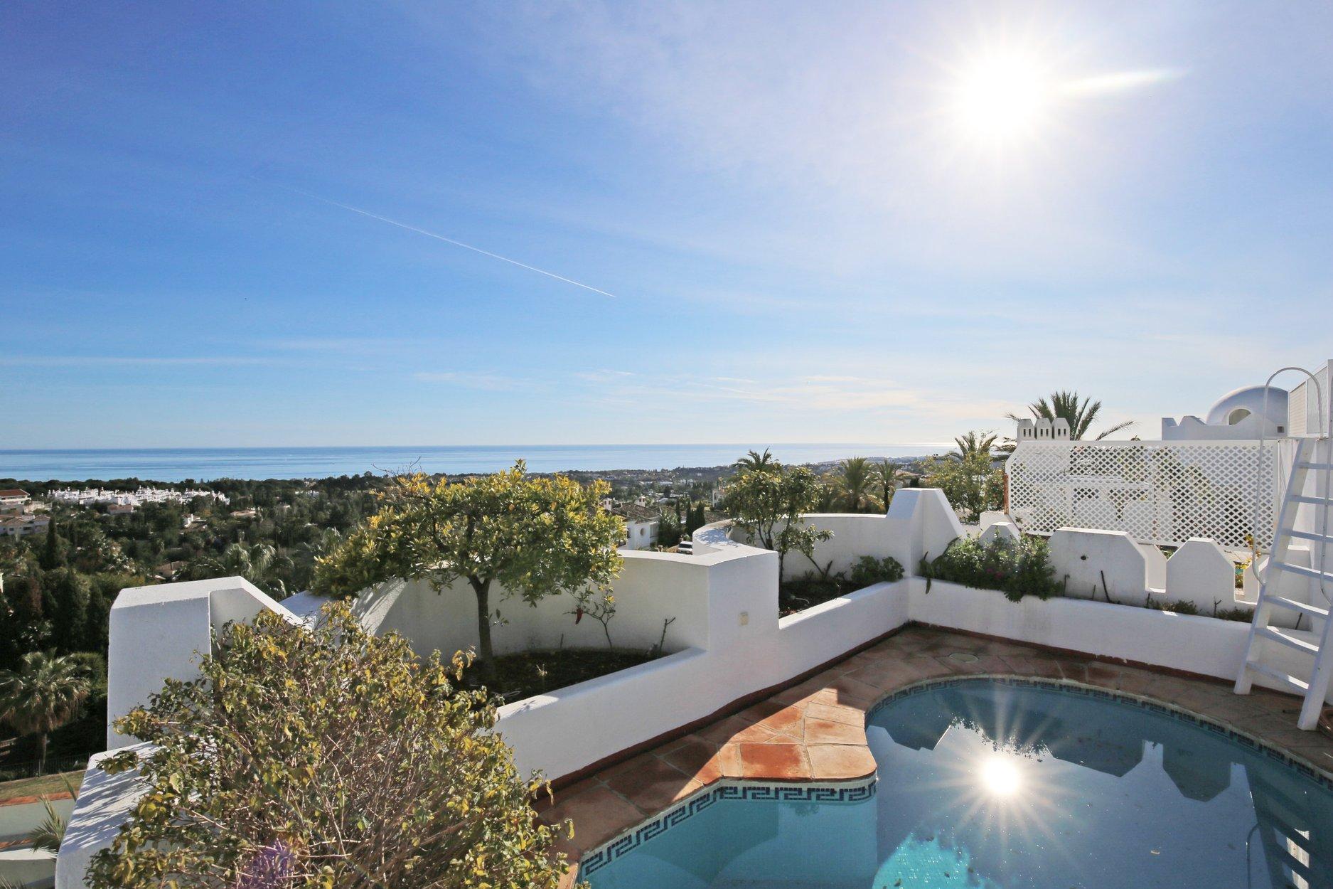 Penthouse à vendre à Marbella, Jardines Colgantes