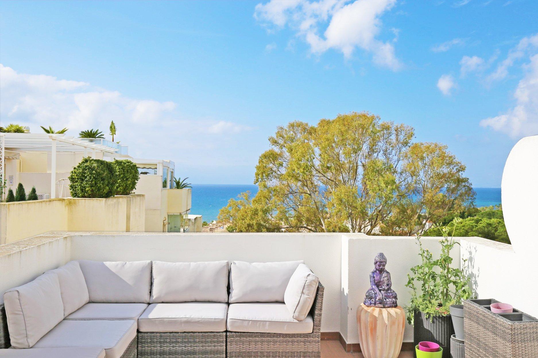 Penthouse te koop in Marbella, Costabella