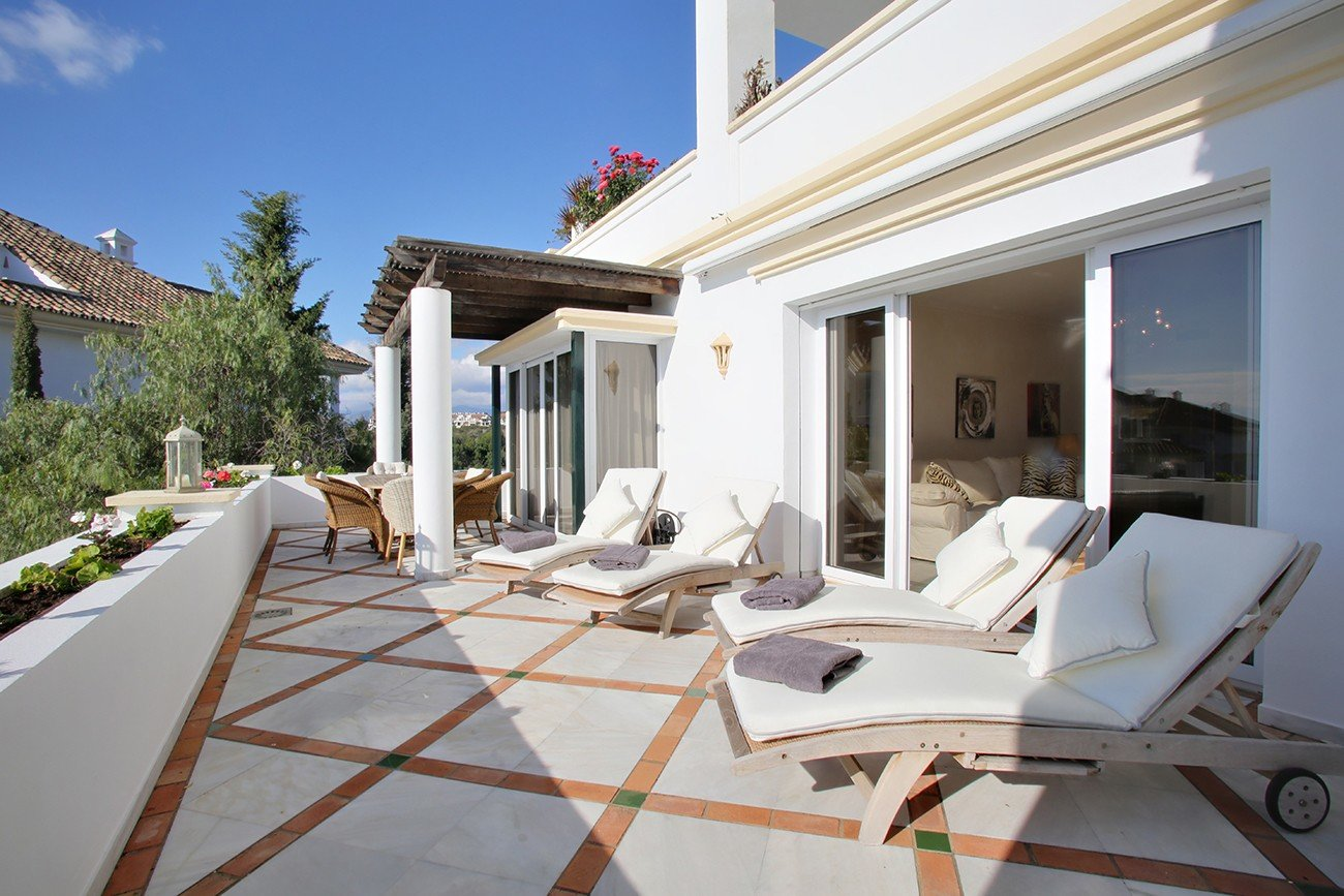 Apartment att hyra i Marbella, Monte Paraiso