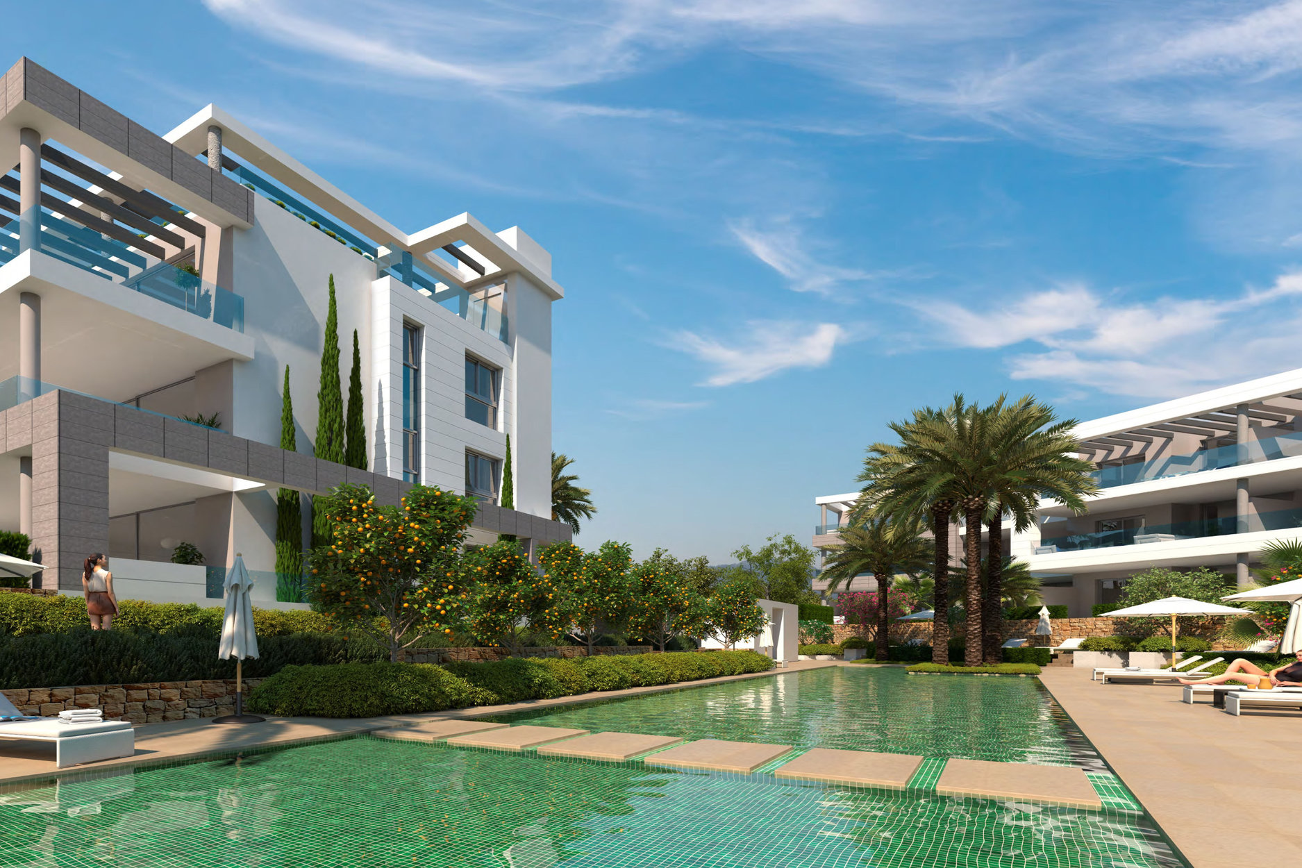 Apartment For Sale in The Residences, Cancelada, Estepona