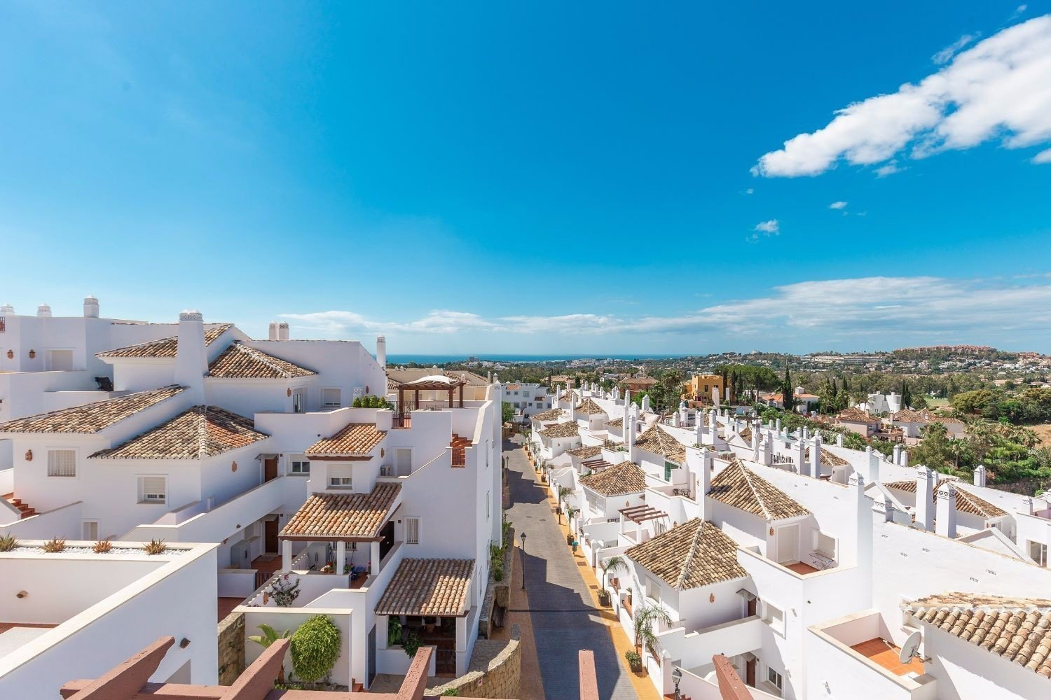 Penthouse for sale in Marbella, Aloha Royal