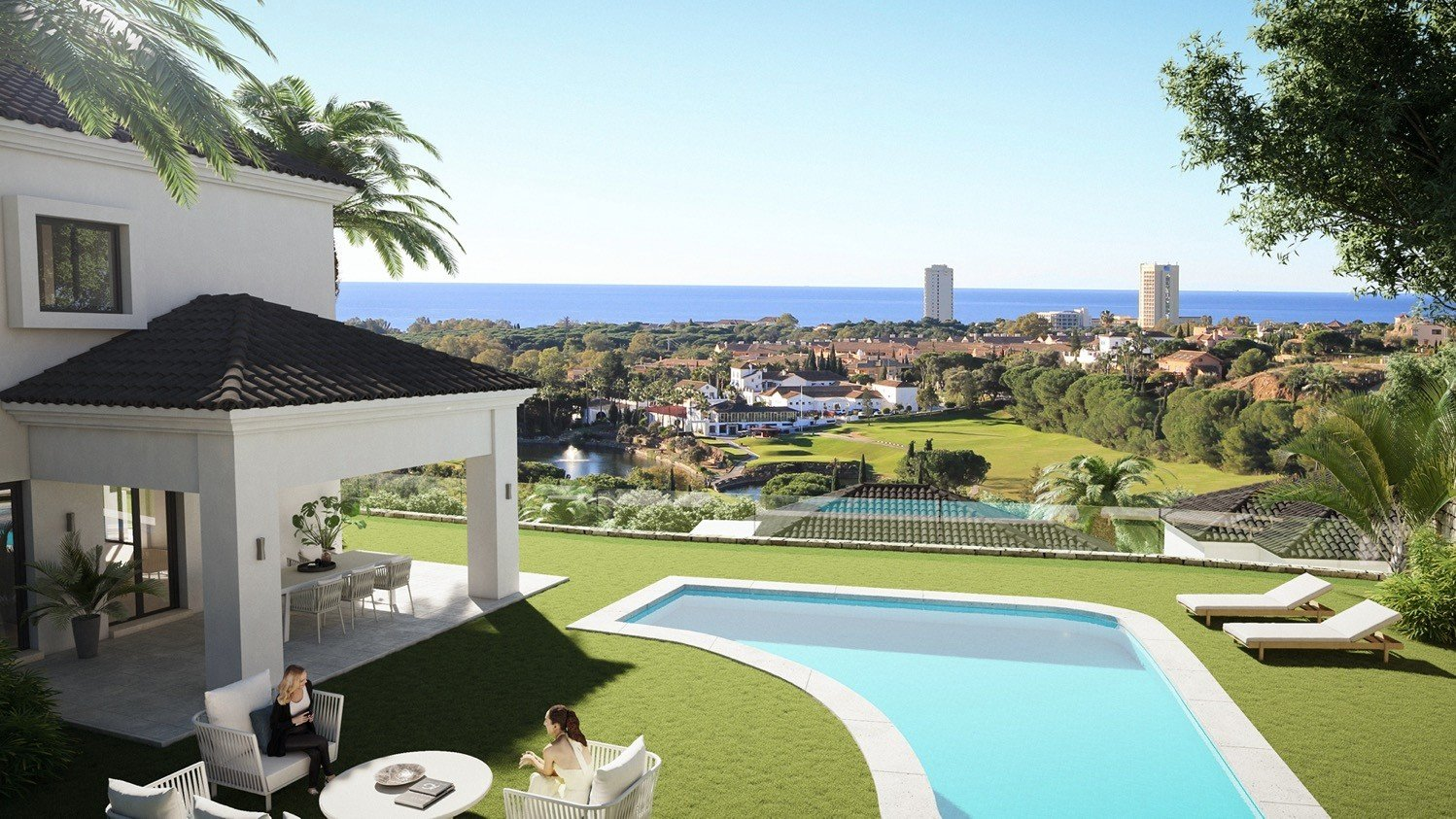 Villa for sale in Marbella, Elviria