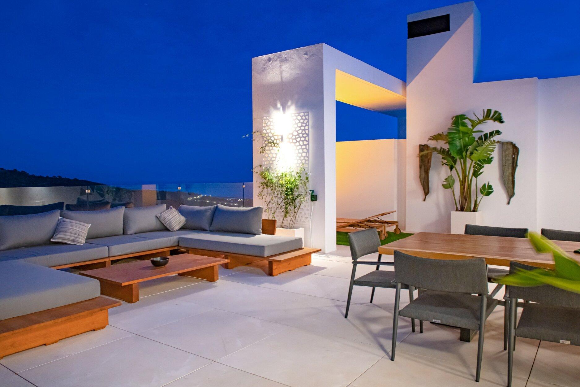 Penthouse à louer à Marbella
