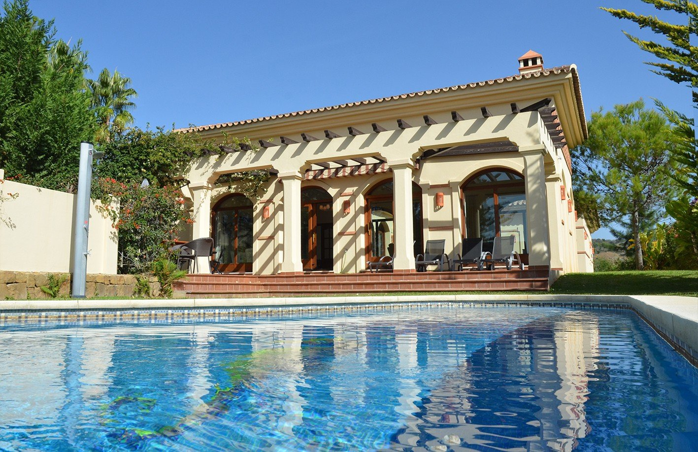 Villa for rent in El Rosario