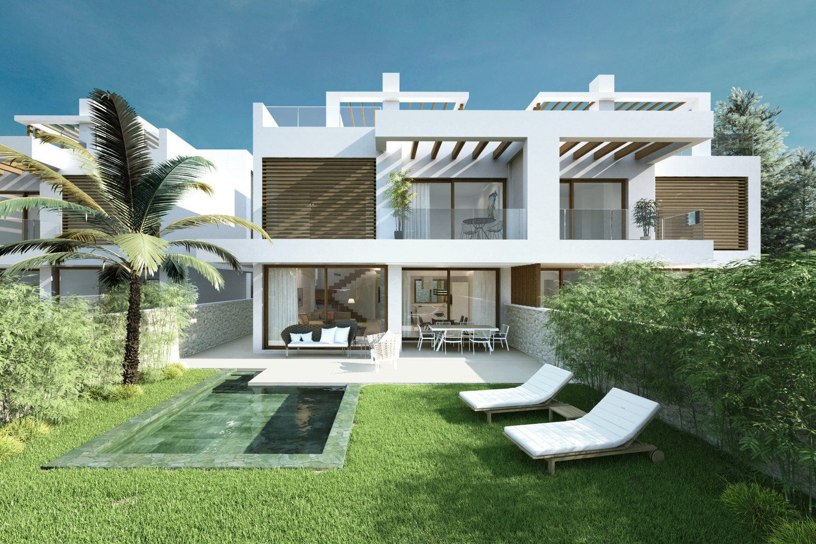 4 bedroom 5 bathroom townhouse for sale in cabopino - Iproperty marbella ...