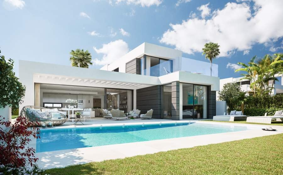 3 bedroom 3 bathroom villa for sale in cabopino marbella - 3 bedroom 3 bathroom homes for sale ...