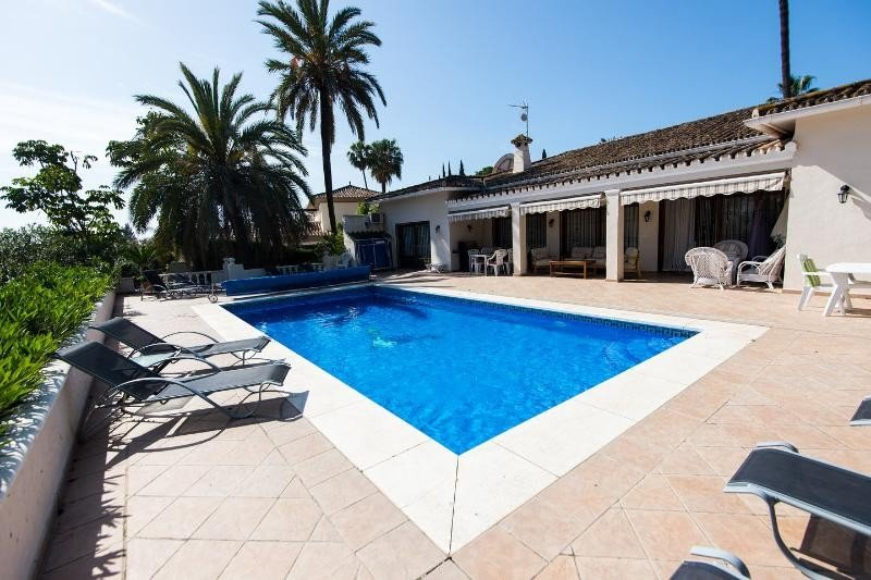 Villa for rent in Marbella, Las Brisas